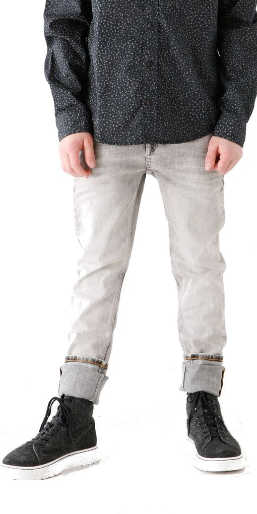 Garcia Jungen Jeanshose Lazlo Passform regular & tapered leg bleach