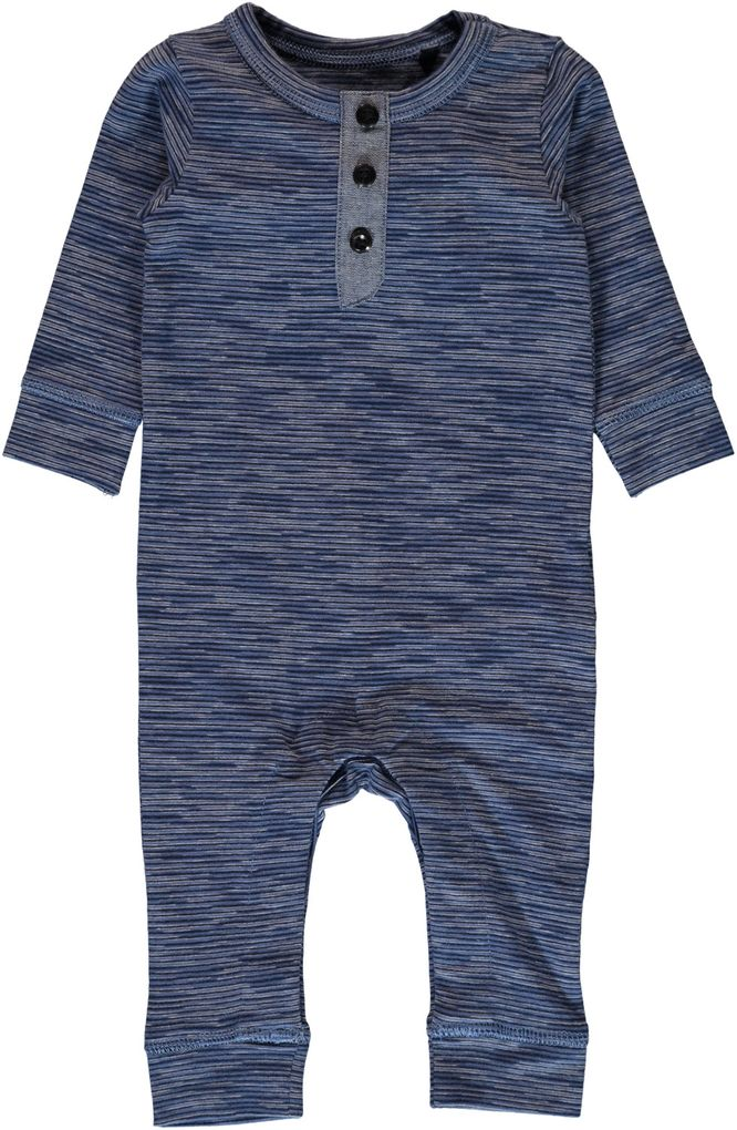 Name it Baby Strampler lang Sweatoverall Nitgellion – Bild 1