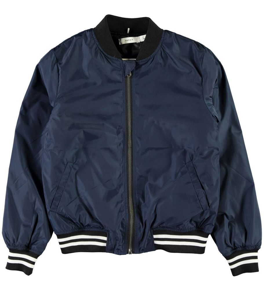 Name it Kinder Übergangsjacke Bomberjacke NKMMarten dress blues