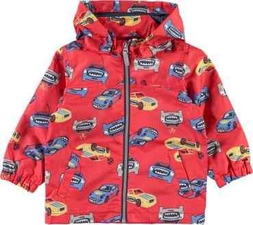 Name it Jungen Übergangsjacke NMMMellon Auto in high risk red 001