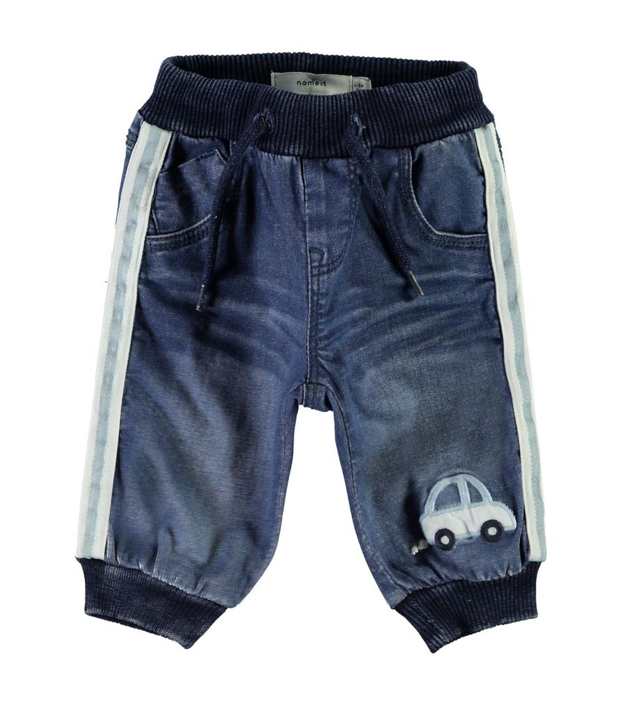 Name it Baby Jungen Jeanshose NBMBob Auto-Applikation – Bild 1