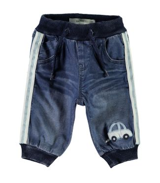 Name it Baby Jungen Jeanshose NBMBob Auto-Applikation 001