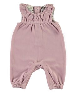 Name it Baby Strampler Velours-Overall NBFErmie