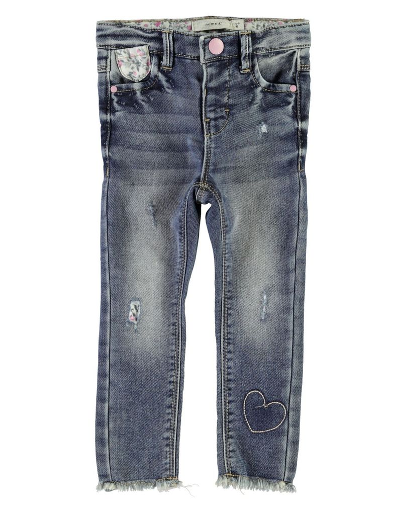 Name it Destoyed Jeans-Hose Skinny für Mädchen NMFPolly mini