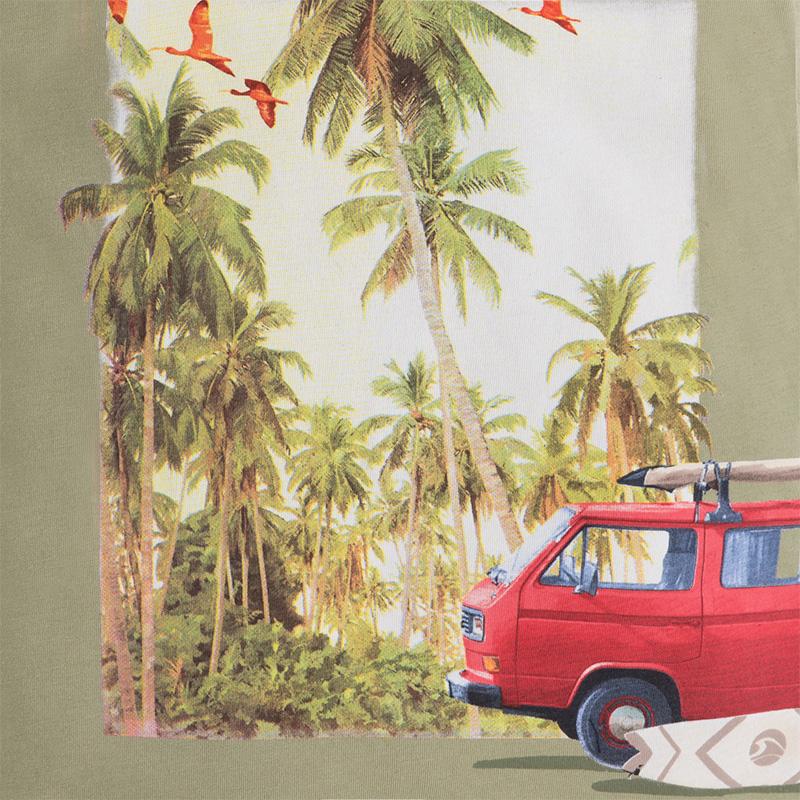 Mayoral Jungen T-Shirt nopal Palmen-Motiv grün – Bild 3