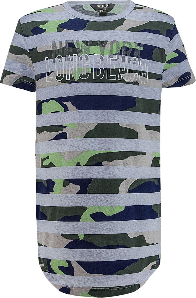 Blue Effect Long T-Shirt für Jungen camouflage – Bild 1
