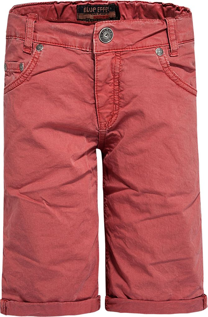 Blue Effect Jungen Bermuda Chino mineralrot regular fit