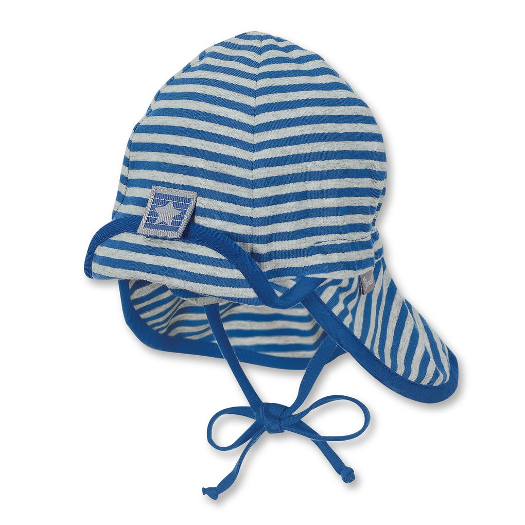 Sterntaler Sommer-Jerseymütze mit Nackenschutz UV-Schutz 30+