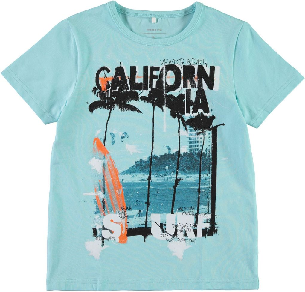 Name it Jungen Sommer-Set T-Shirt und Shorts Surfer NKMZimak – Bild 2