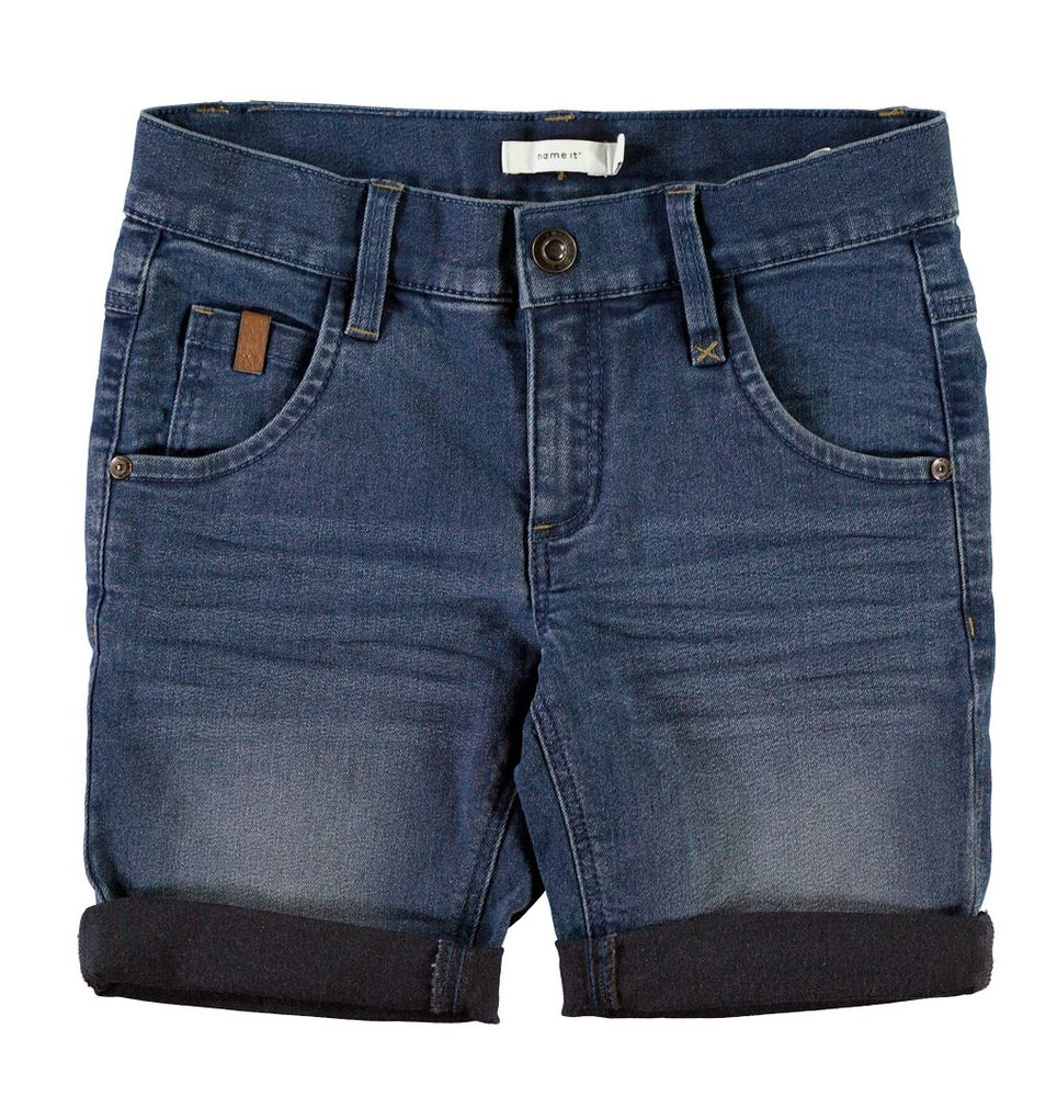 Name it Jungen Jeans-Bermuda Sofus slim Long Shorts Denim – Bild 3