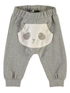 Name it Baby Leggings Sweathose mit Pandabär NBNUmoga