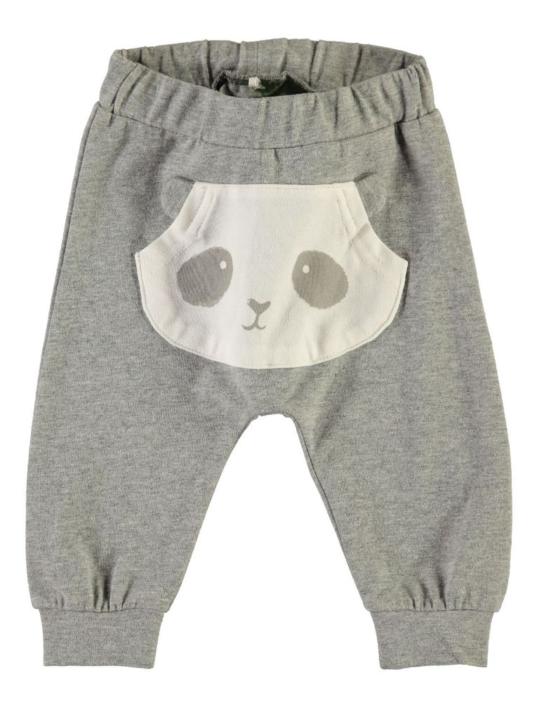 Name it Baby Leggings Sweathose mit Pandabär NBNUmoga – Bild 1