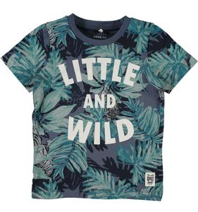 Name it Jungen T-Shirt kurzarm Little and Wild NMMGAJUNGLE
