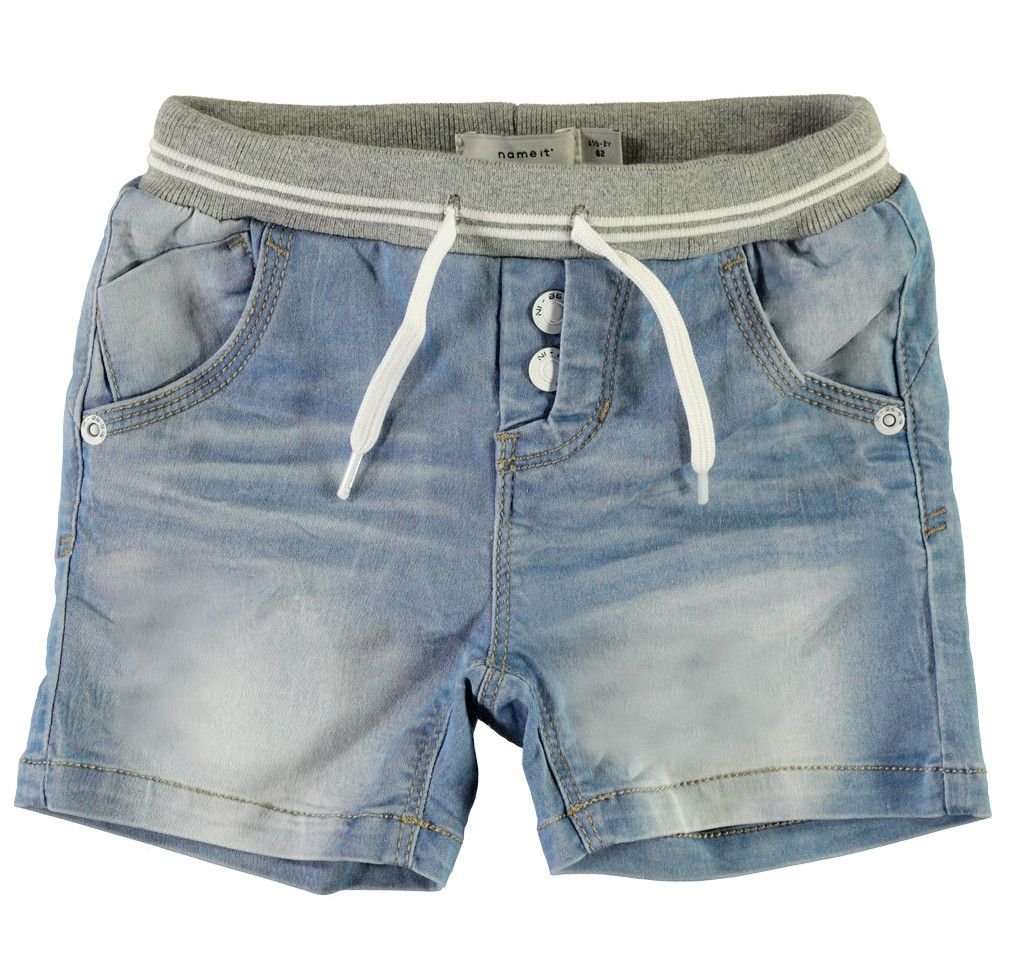 Name it Jungen Jeans Shorts kurze Hose NMMRYAN mini – Bild 1