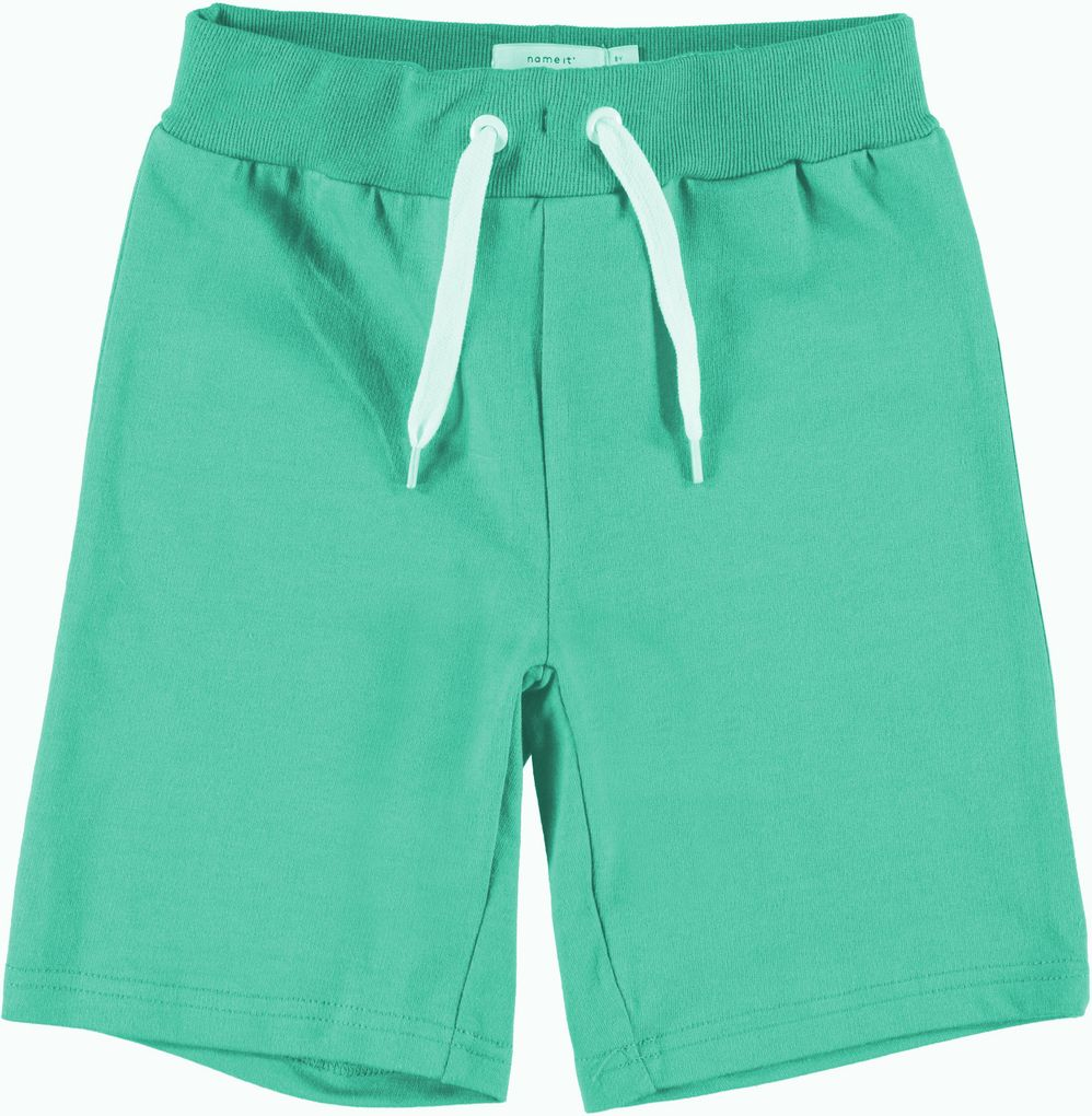 Name it Jungen Sweat Bermuda kurze Sporthose Long Shorts NKMVermond – Bild 4