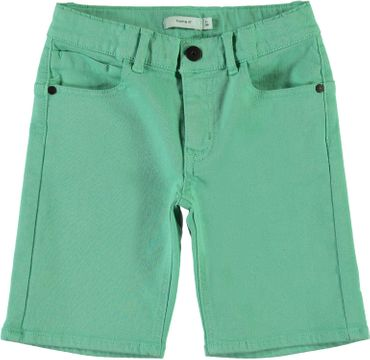 Name it Jungen Twill Bermuda Long Shorts kurze Hose NKMRYAN 001