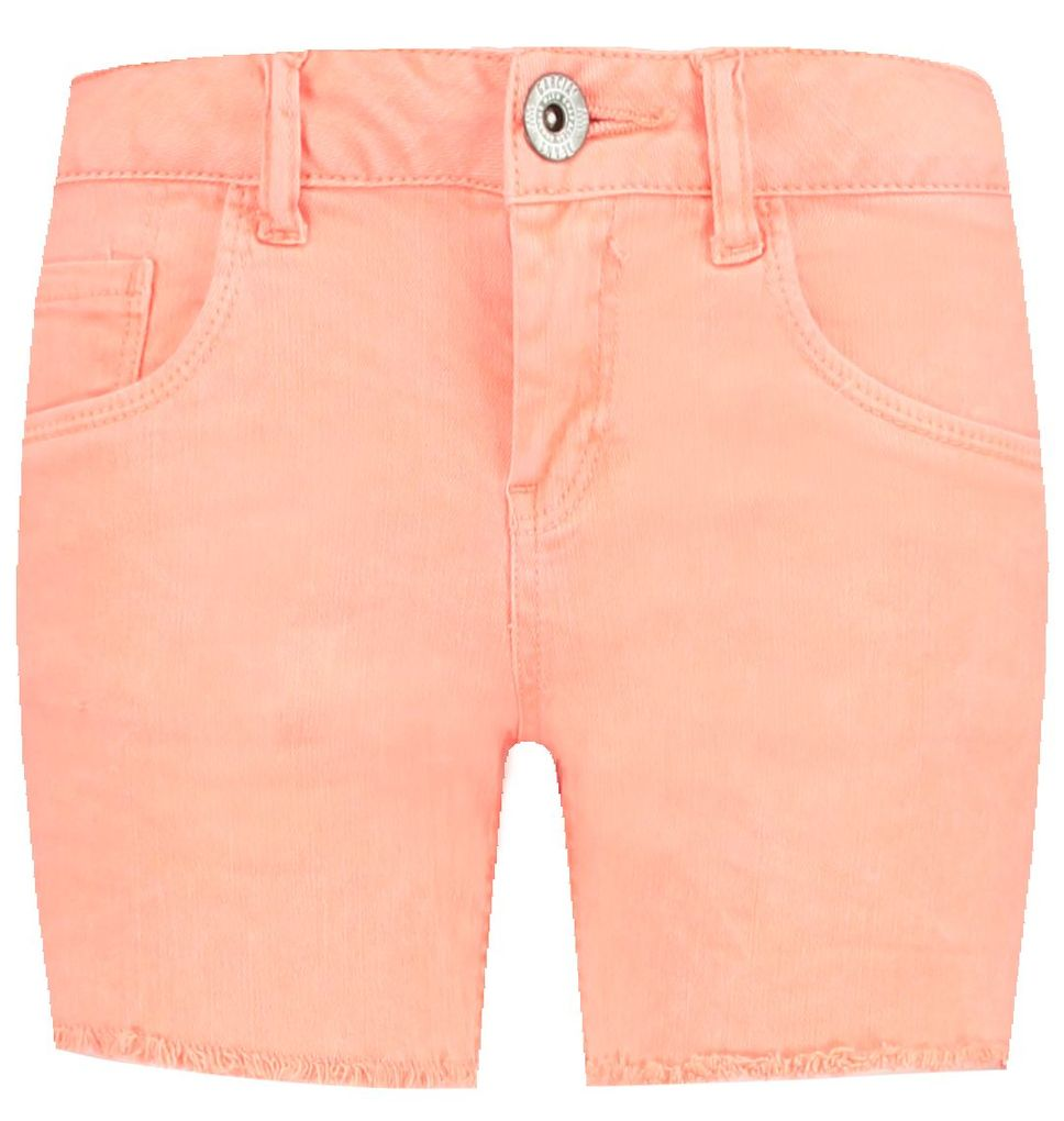 Garcia Mädchen Shorts kurze Chino Hose sunset orange