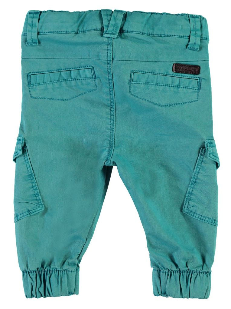 Name it Baby Jungen Chinohose im Workerstyle NBMROMEO TWIBACKI PANT lake blue – Bild 2