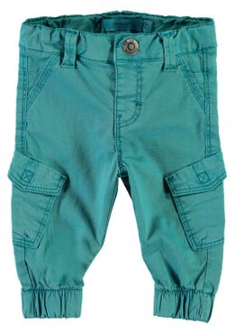Name it Baby Jungen Chinohose im Workerstyle NBMROMEO TWIBACKI PANT lake blue 001