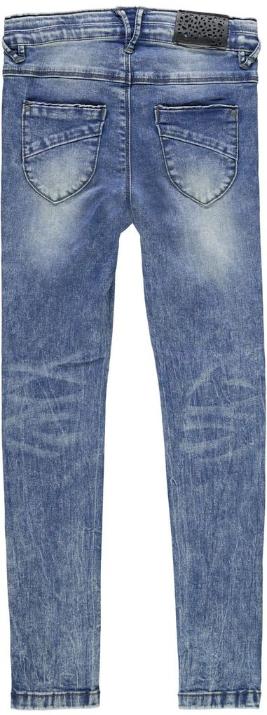 Name it Mädchen Skinny Jeans NKFPolly blue denim – Bild 2