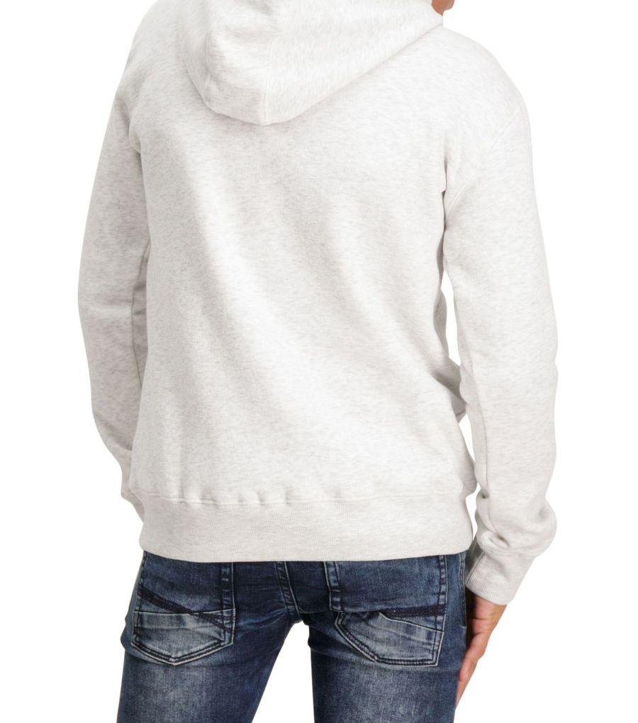 Garcia Jungen Kapuzen-Sweatshirt Hoodie in white melee – Bild 5