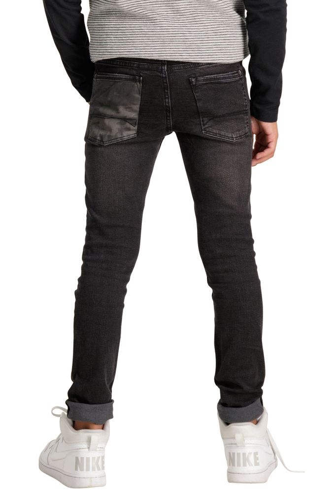 Garcia Jungen Jeanshose Skinny Xandro superslim fit dark used black – Bild 4
