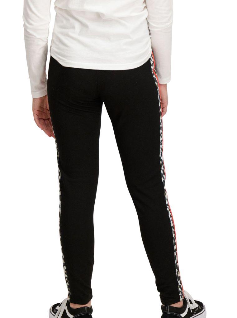 Garcia Mädchen Jogpants in off black mit Zierstreifen – Bild 4